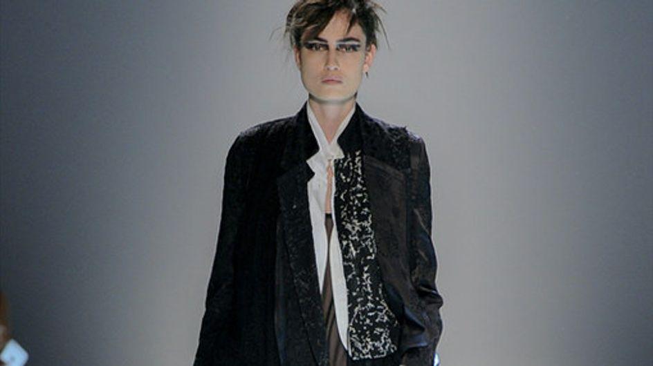 Ann Demeulemeester Parigi Fashion Week primavera estate 2015