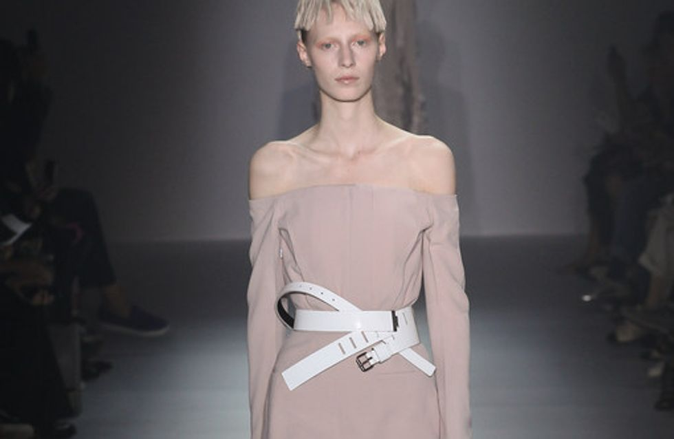 Haider Ackermann, collection poudrée