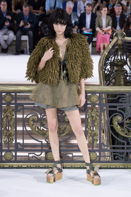 John Galliano Parigi Fashion Week primavera estate 2015