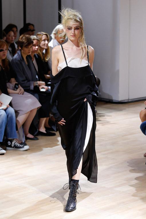 Yohji Yamamoto Parigi Fashion Week primavera estate 2015