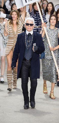 Chanel, Frühjahr/Sommer 2015, Paris Fashion Week