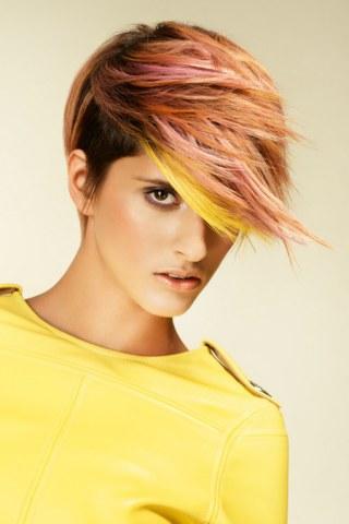 Color Me Up Frisuren Mit Trendigen Farbeffekten Fotoalbum Gofeminin