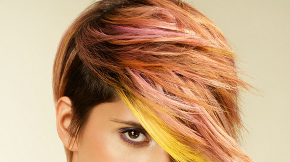 Color me up! Frisuren mit trendigen Farbeffekten