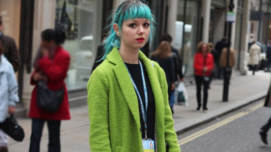 London Street Style 2014: The Denim Drop