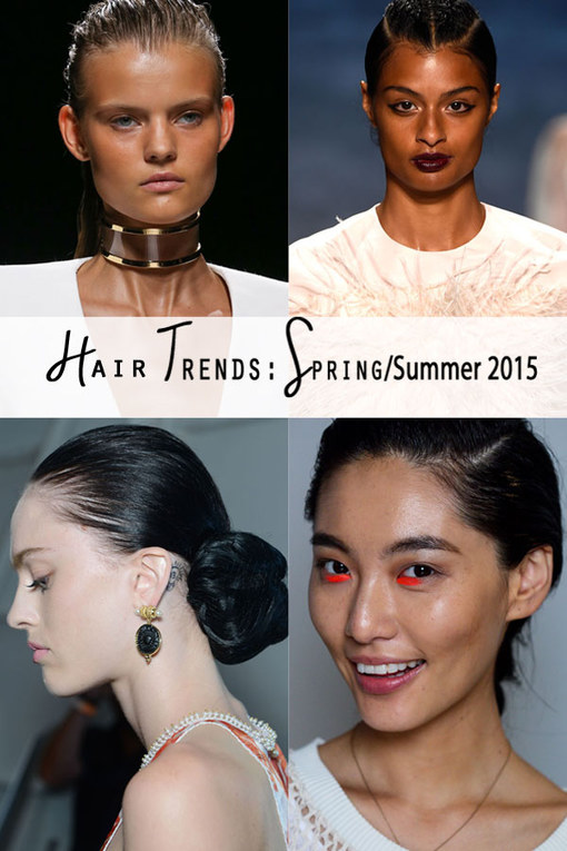 The Best Hair Trends For Spring Summer 2015