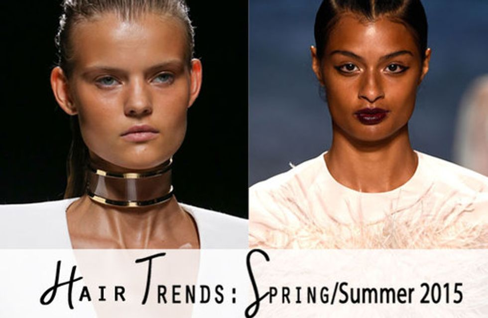 Hair Trends: Spring/Summer 2015