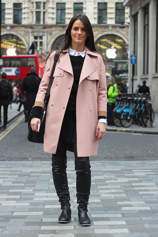 London Street Style 2014: Winter Warmers