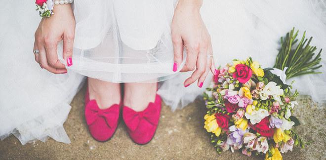 Manicure de casamento ♥