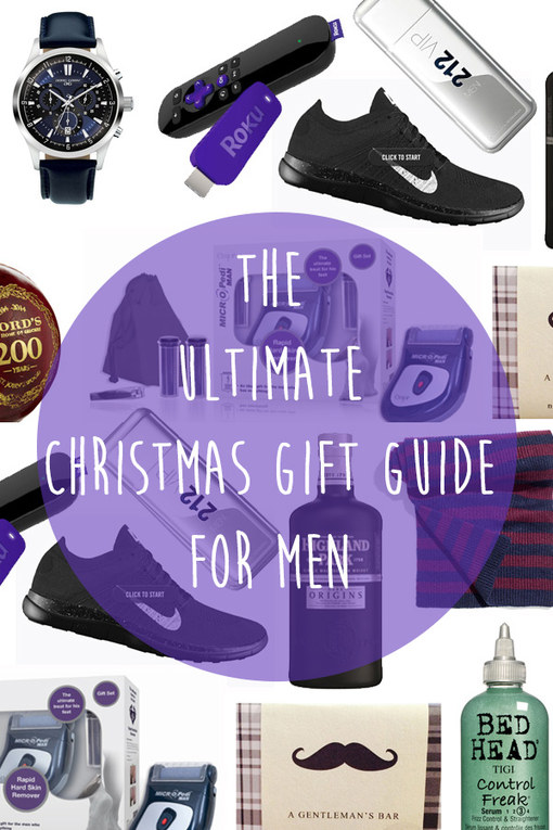 The Ultimate 2014 Christmas Gift Guide For HIM!