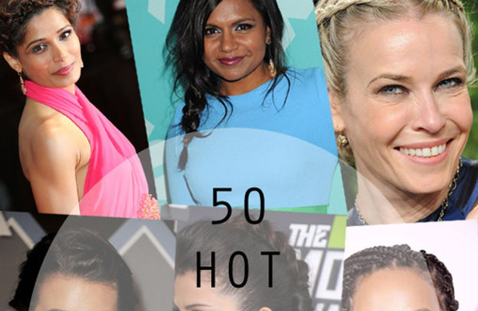 50 Of The Hottest Celebrity Braided Hairstyles
