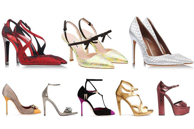 promo code df252 271a8 Oro, metallo e glitter: ecco le scarpe da sogno per l ...
