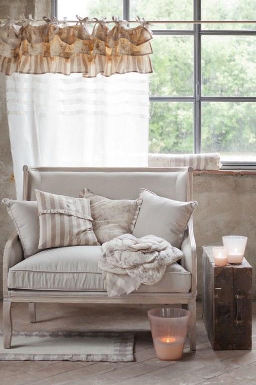 Interior design 25 idee per una casa 100 shabby chic album di foto alfemminile - Idee shabby chic per la casa ...