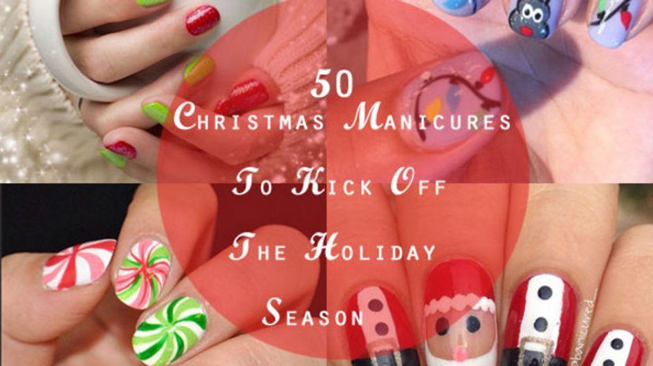 51 Christmas Manicures To Kick Off The Holiday Season!