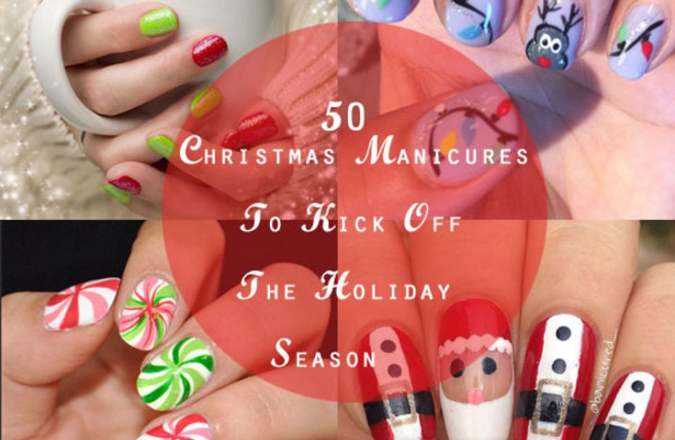 51 Christmas Manicures To Kick Off The Holiday Season!
