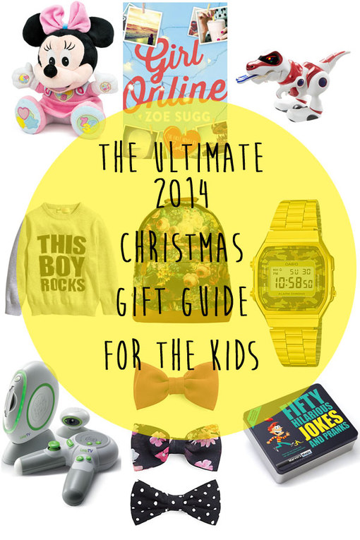 The Ultimate 2014 Christmas Gift Guide For Children