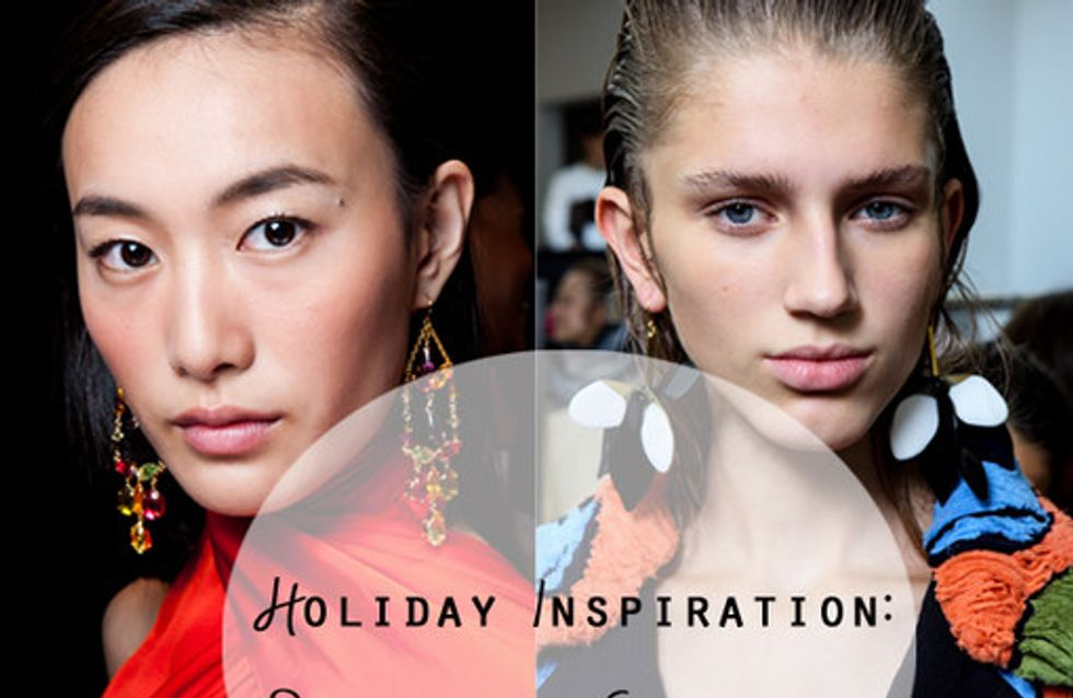 Accessories Inspiration: Statement Earrings, The Perfect Finishing Touch