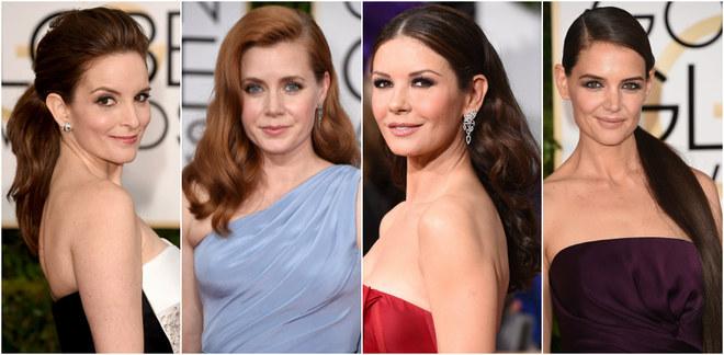 Le acconciature e i make-up sfoggiati sul red carpet