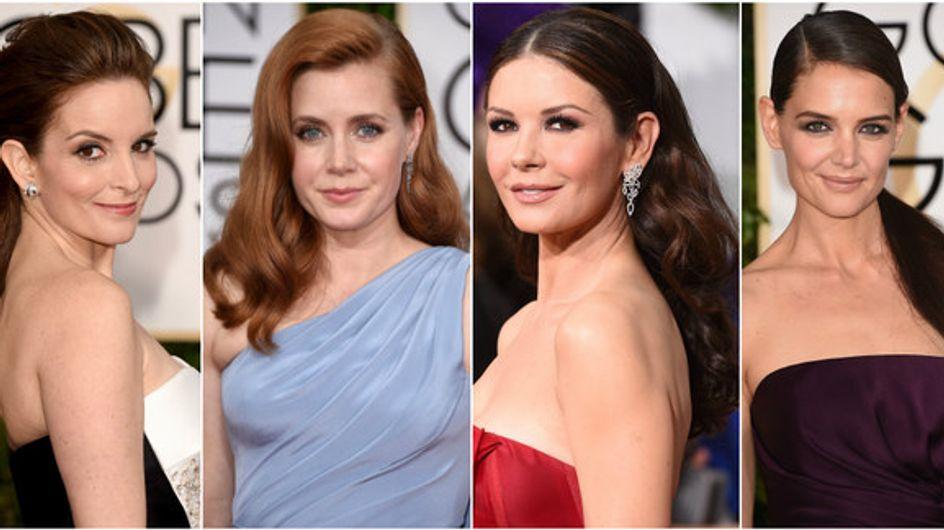 Golden Globes 2015: le acconciature e i make-up sfoggiati dalle star