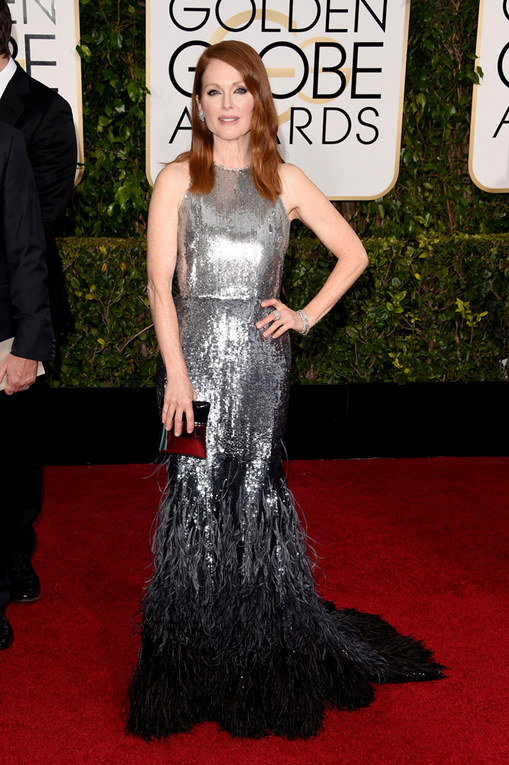 Il red carpet dei Golden Globes 2015 - Julianne Moore