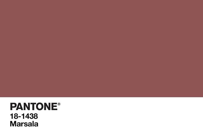 Color Marsala: il colore del 2015 secondo Pantone