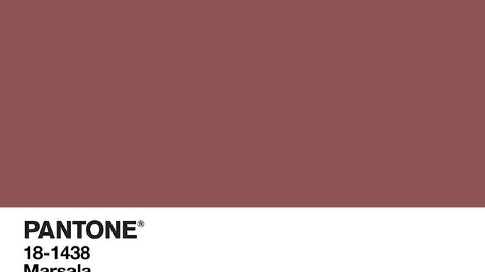 Marsala, il colore del 2015. Scopri i capi e gli accessori più belli