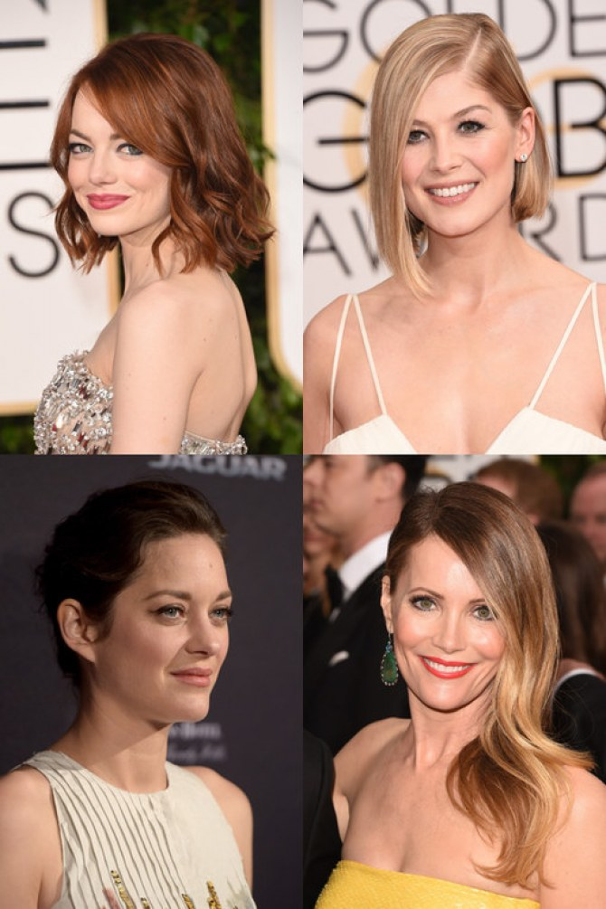 Les coiffures des stars en 2015