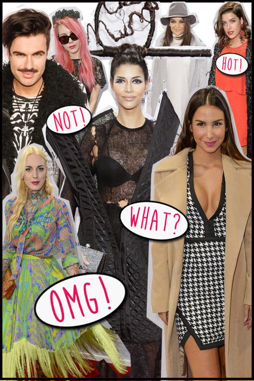 OMG! So sahen die Stars auf der Fashion Week Berlin aus!