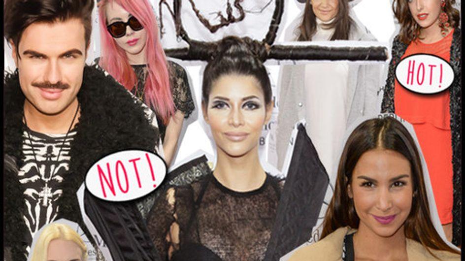 OMG! Die Horror-Looks der Promis auf der Fashion Week Berlin