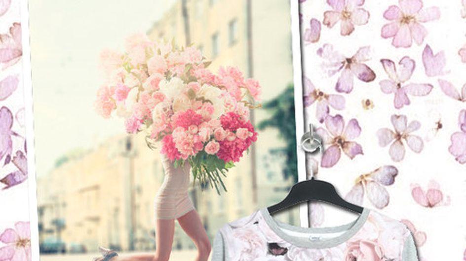 Blumenmuster Modetrend 2015