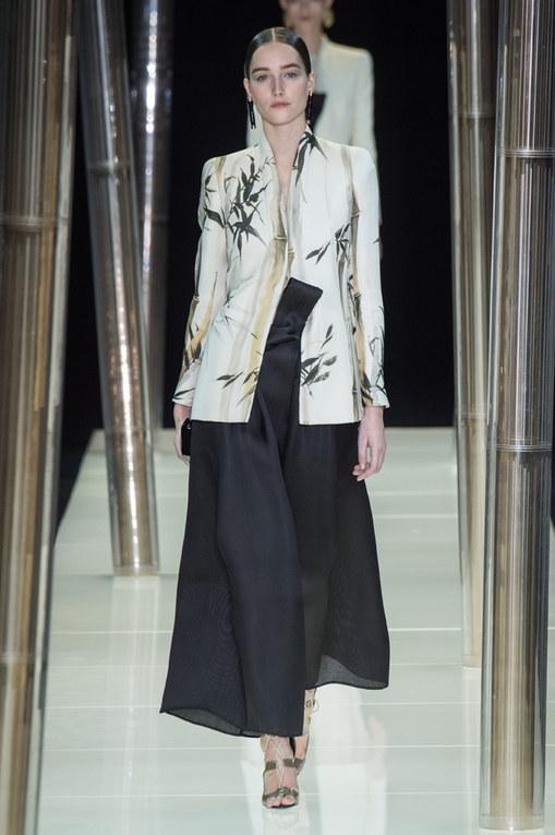 Giorgio Armani Privé Haute Couture primavera estate 2015