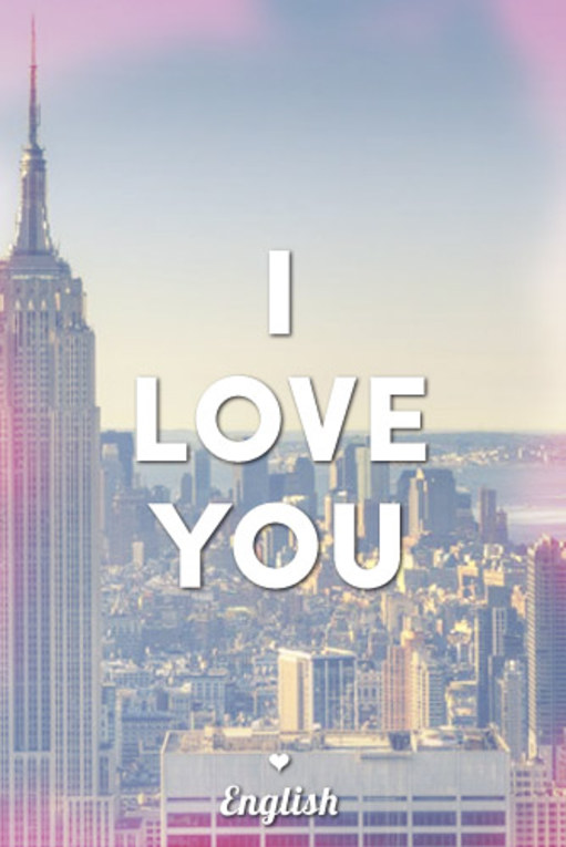 How To Say I Love You In 90 Languages