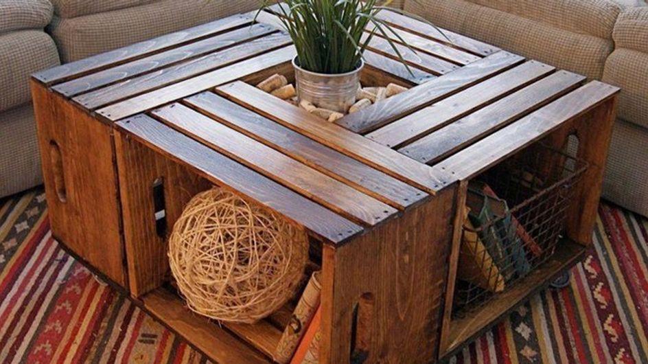 DIY: mesas originales y prácticas