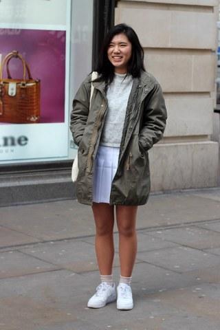 London Street Style 2015: January Blues