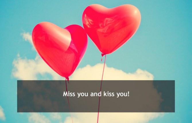 Miss you, kiss you: Liebeserklärung per SMS