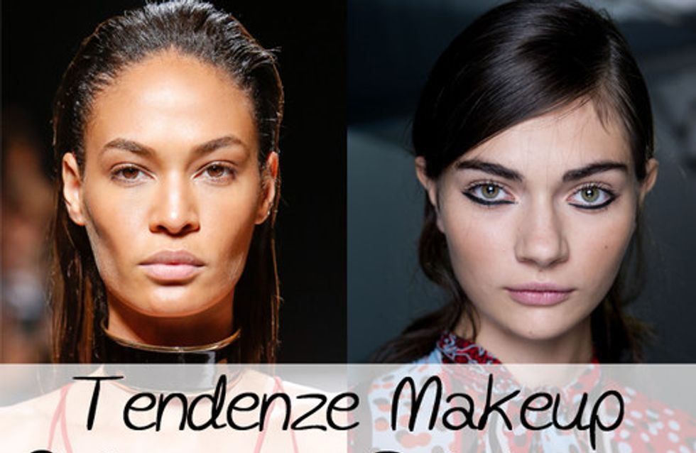 Labbra rosse e carnagione dorata: scopri i trend Makeup primavera estate 2015