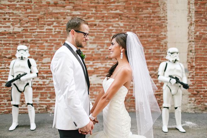 Boda con temática Star Wars