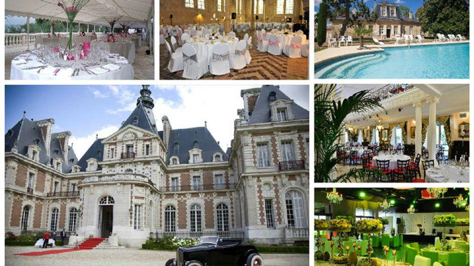 50 salles de réception pour un mariage