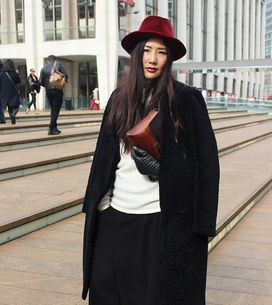 New York Fashion Week Street Style A/W 15