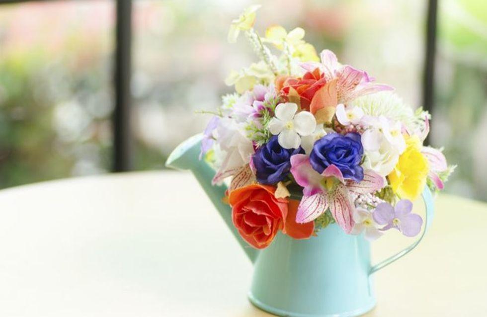 Arredi e complementi di ispirazione floreale