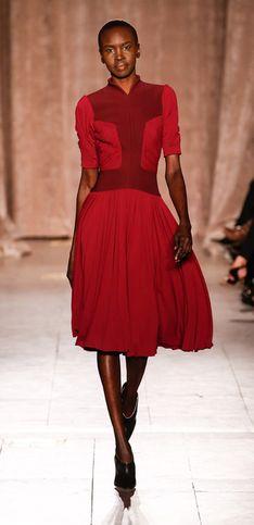 Zac Posen: New York  Fashion Week, Herbst/Winter 2015
