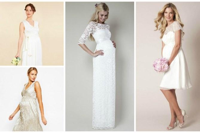 30 robes de mariée de grossesse