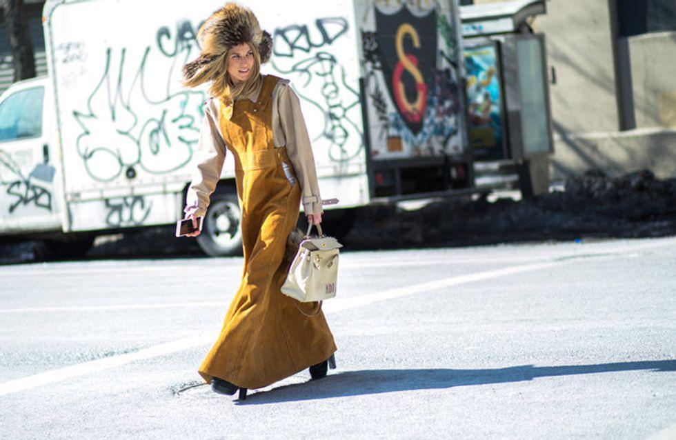 El street style también lucha contra el viento
