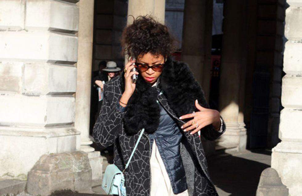 London Fashion Week Street Style AW15
