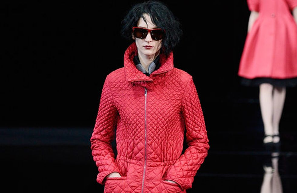 Emporio Armani Milano Fashion Week autunno/inverno 2015-2016