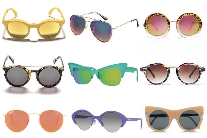 Gli occhiali da sole della primavera estate 2015