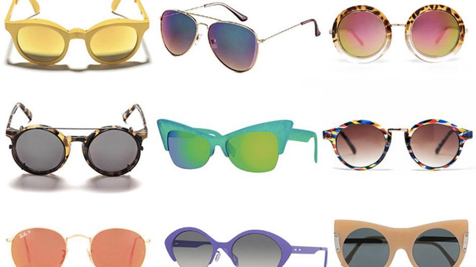 Lenti colorate, cat eye e vintage: gli occhiali da sole della primavera estate