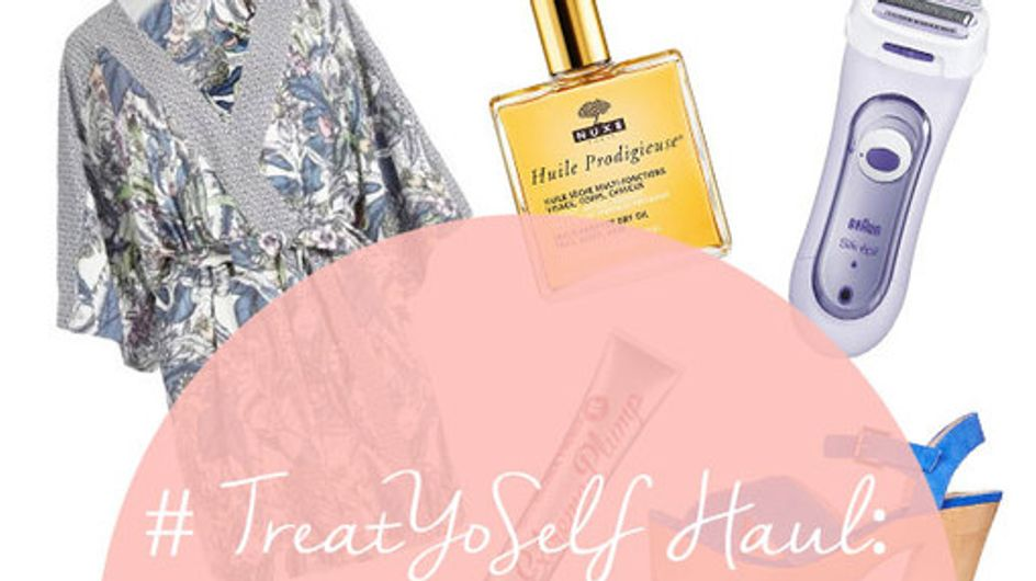 #TreatYoSelf Haul: Beauty, Fashion & Everything In Between