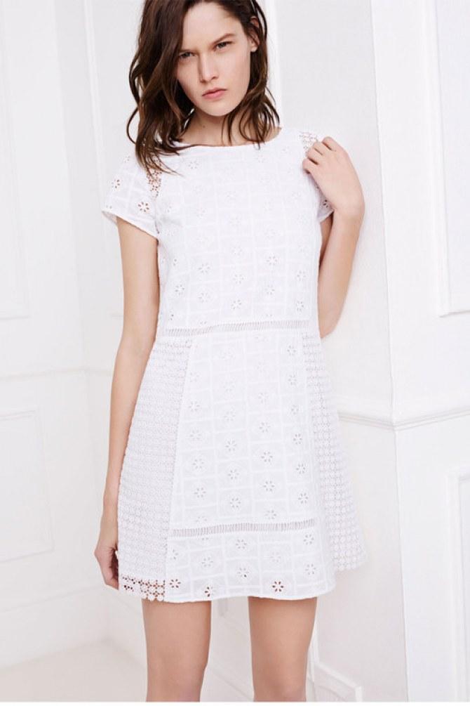 Au printemps, ma petite robe sera white
