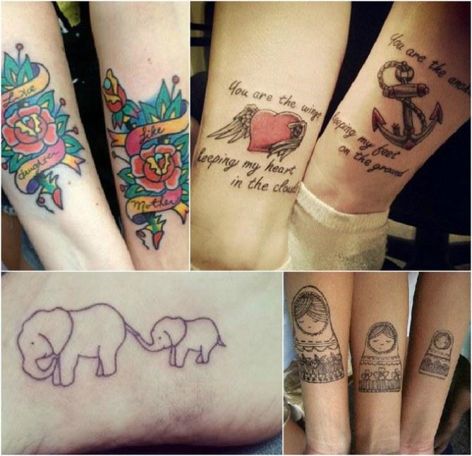 Amor declarado: tatuagens para mães e filhas