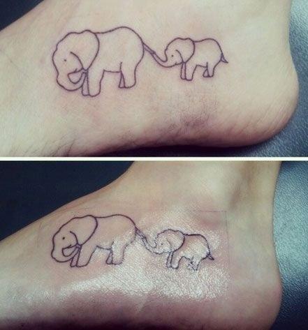 Tattoo mama und tochter